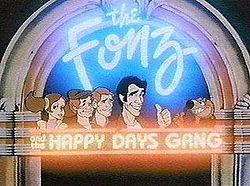 El Fonz y la pandilla de Los días felices