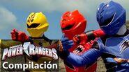 Power Rangers en Español ¡Increíbles peleas de Ranger de la Jungla Fury!