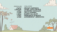 Creditos de doblaje The Loud House ESLA (S326-1)