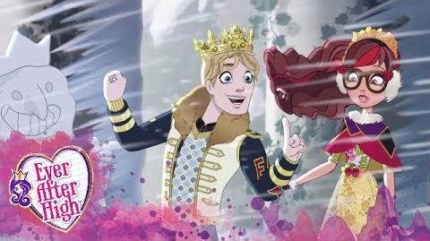 El espejo está a salvo Epic Winter Ever After High