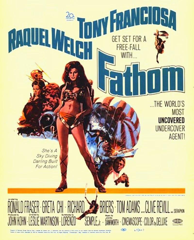 Fathom, una espía que cayo del cielo