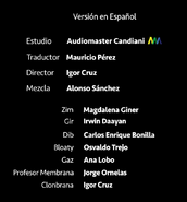 InvaderZim(2019) Credits