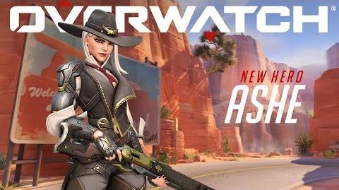 Presentamos a Ashe Overwatch