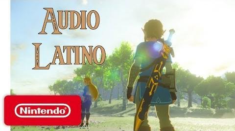 The Legend of Zelda Breath of the Wild - Nintendo Switch Trailer - Audio Latino