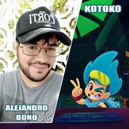 Alejandro bono y kotoko