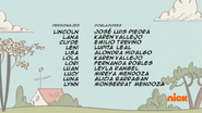 Creditos de doblaje The Loud House ESLA (S319-1)