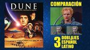 Dunas -1984- Doblaje Original y 2 Redoblajes - Español Latino - Comparación y Muestra