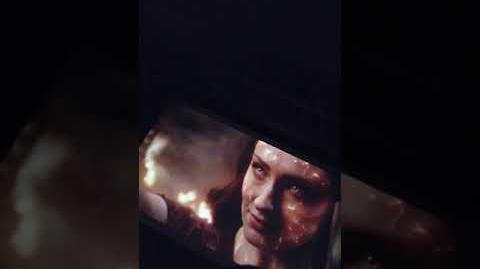 X MEN- Dark Phoenix - Trailer 3 Doblado al Español Latino (grabado del cine)