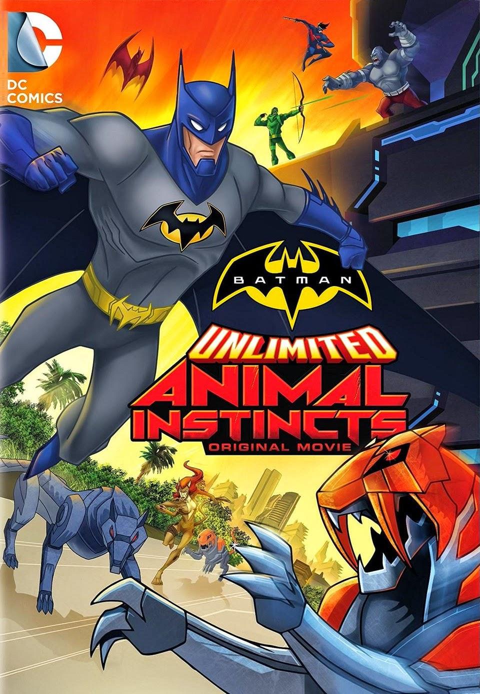 Batman ilimitado: Instinto animal