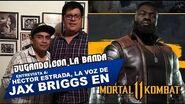 Jugando con la banda- Entrevísta a Héctor Estrada, la voz de Jax Briggs en Mortal Kombat 11