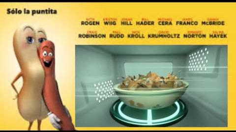 Fiesta de las salchichas Escena de la cocina (actualizada)