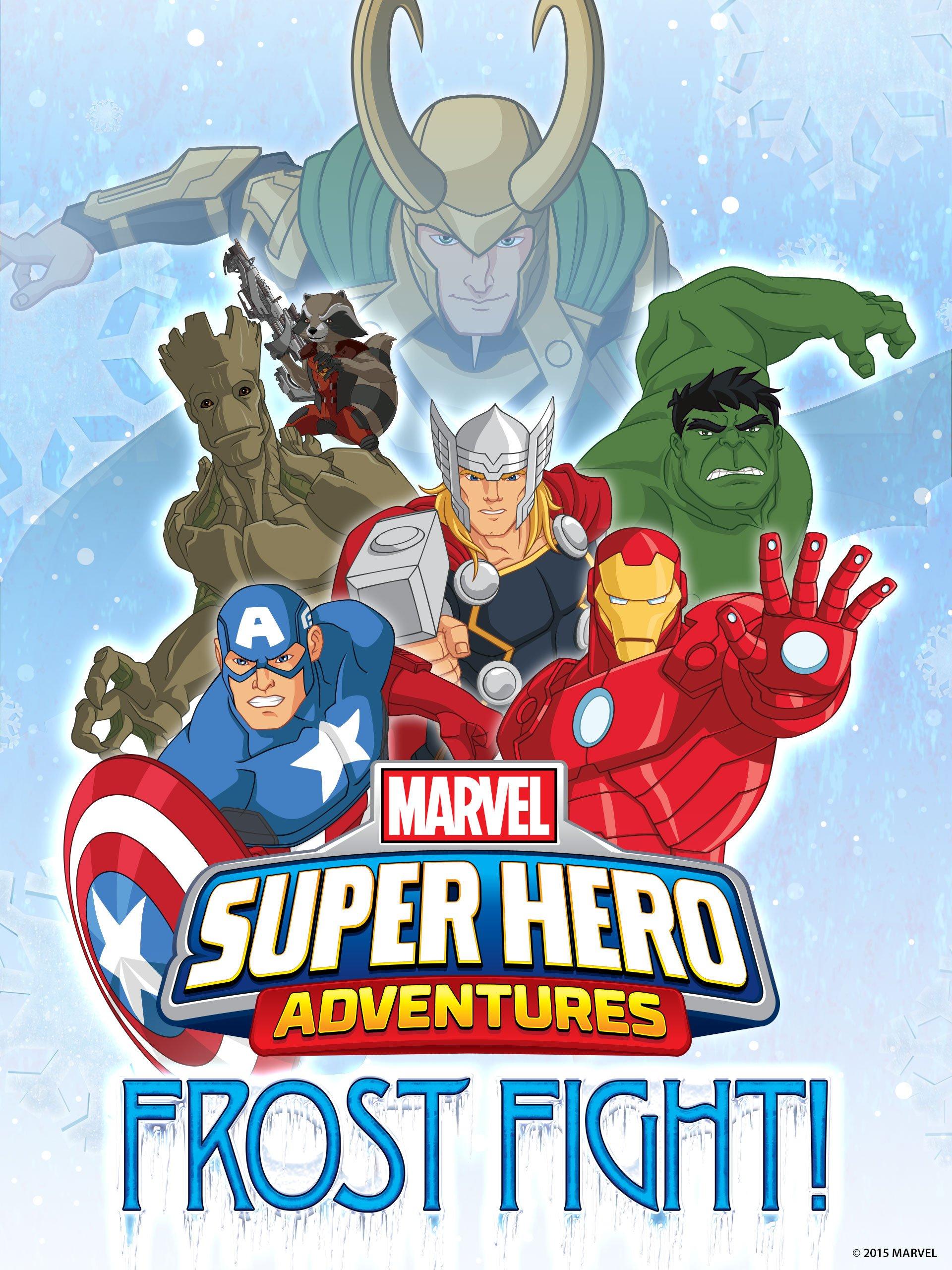 Las aventuras de los superhéroes de Marvel: ¡Combate sobre hielo!
