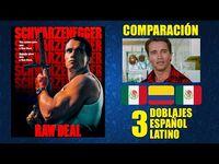 Raw Deal- Triple Identidad -1986- Comparación de 3 Doblajes Latinos - Original y Redoblajes
