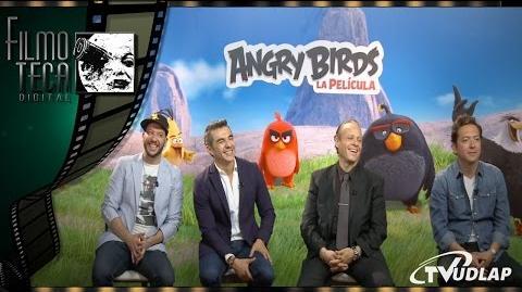 Adrian Uribe, Rubén Cerda, Faisy y Bazooka Joe Doblaje de Angry Birds Filmoteca Digital
