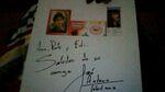 Autografo edi y paty