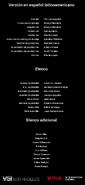 Créditos doblaje Selena La serie (temp. 1 ep. 7)