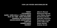 Un jefe en pañales Doblaje Latino Creditos 2.png