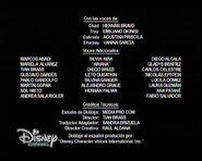Créditos de doblaje de High School Musical (TV) (DC)