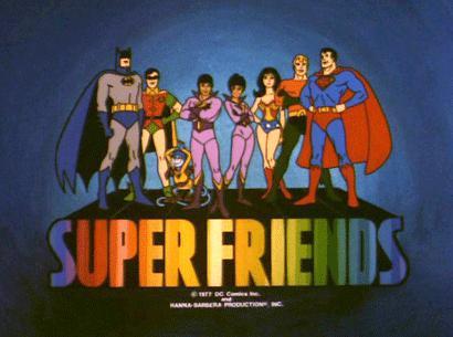 Los Súper amigos (1977)