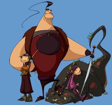 Cazadores de dragones (serie animada)