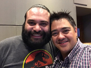 Eduardo Garza y Hiram Cárdenas