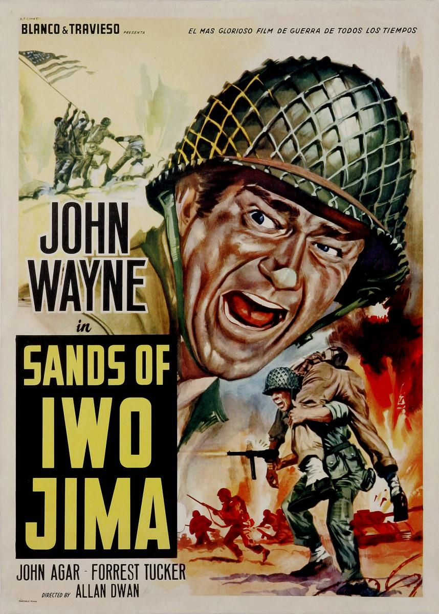 Arenas de Iwo Jima