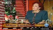 Los Grandes María Santander, por Gabriela Alcalá