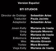Créditos de doblaje de Black Mirror T03E04 (Netflix)