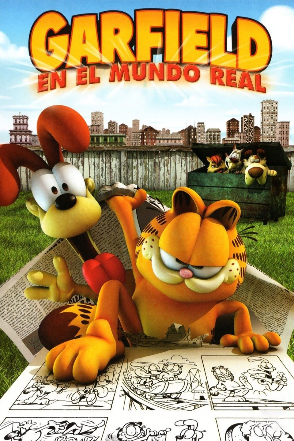 Garfield: En el mundo real