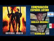 Soldado Universal -1992- Comparación del Doblaje Latino Original y Redoblaje - Español Latino