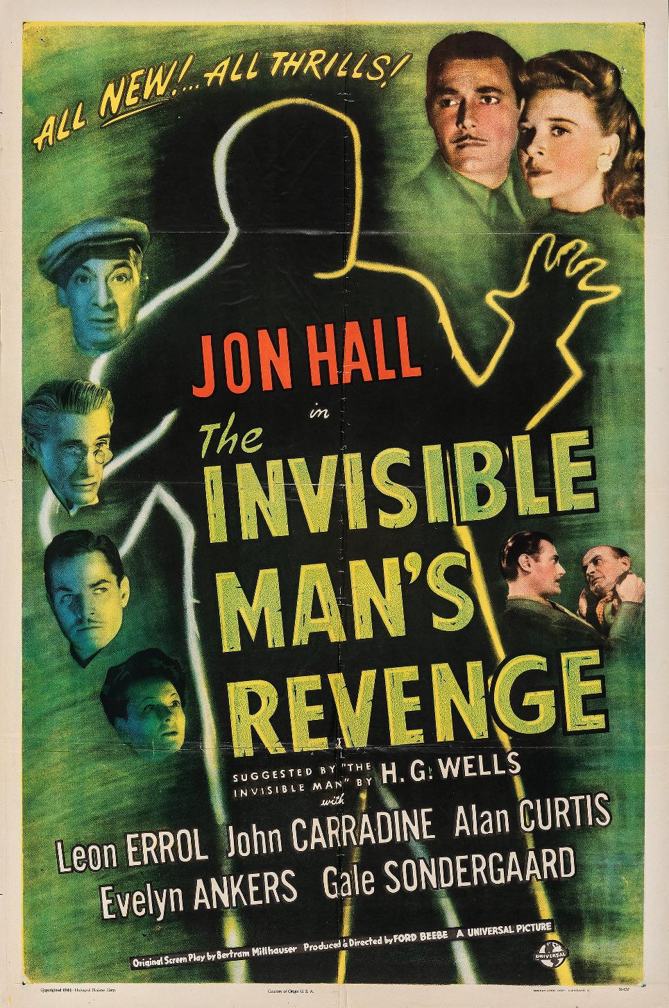 Vuelve el hombre invisible