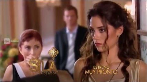 """Sila, esclava de amor"" promo Telefe"