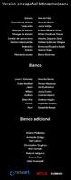 Créditos doblaje Resident Evil La tiniebla infinita (ep. 4)