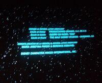 Datos técnicos - Captura de créditos cine Han Solo, una historia de Star Wars
