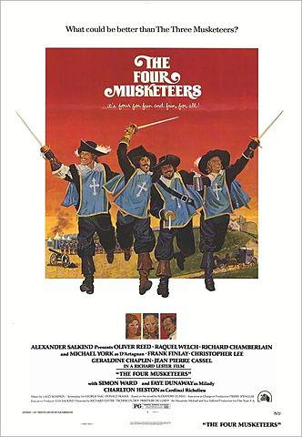 Los cuatro mosqueteros (1974)