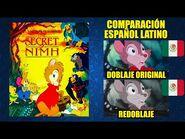 La Ratoncita Valiente -1982- Comparación del Doblaje Latino Original y Redoblaje - Español Latino