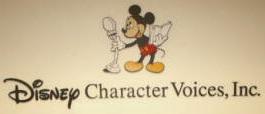 Disney en el doblaje