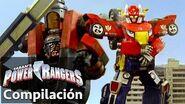 Power Rangers en Español Peleas de Zord Power Rangers RPM!
