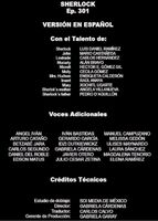 Doblaje Latino de Sherlock (3ª Temp. - Cap. 1)