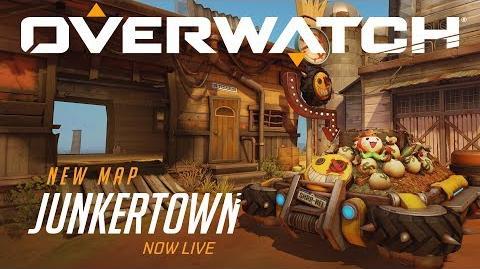 Junkertown Nuevo mapa de escolta Overwatch