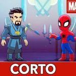 Aventuras de Súper Héroes de Marvel Limpieza no-tan-en-seco