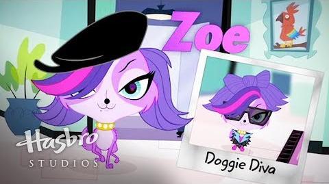 Littlest Pet Shop - Conoce a Zoe