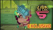 La Liga de los 5 - Cápsula Exclusiva 🌶️👊 Tuna y el Garrafón de Agua💧😠 Animación Mexicana