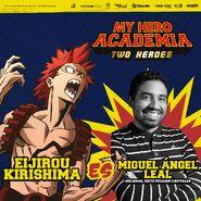 My Hero Academia - Dos Héroes (Actores presentados 11)