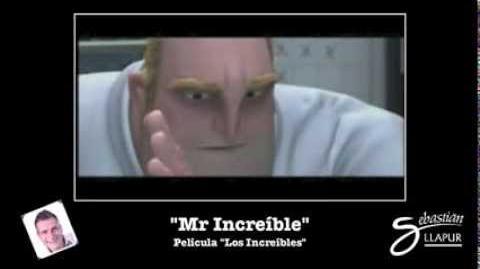 """Sebastián Llapur como """"Mr Increíble"""""""