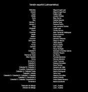 The Seven Deadly Sins - Los prisioneros del cielo Créditos
