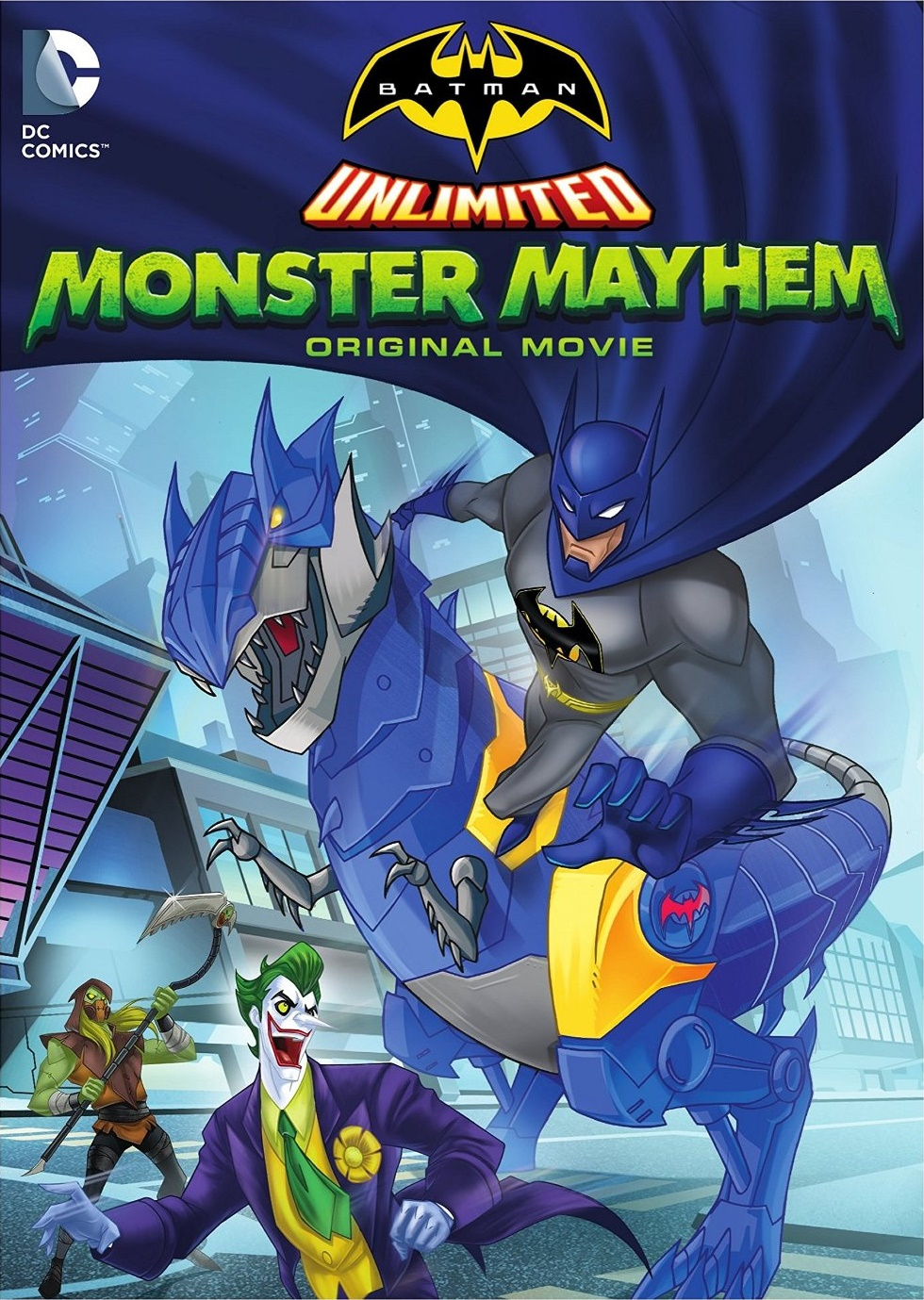 Batman ilimitado: Caos de monstruos