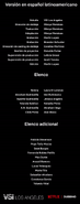 Créditos doblaje Selena La serie (temp. 2 ep. 8)