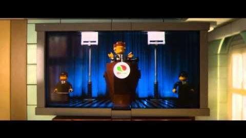 LA GRAN AVENTURA LEGO - Conozcan Al Presidente Negocios - Oficial de Warner Bros. Pictures
