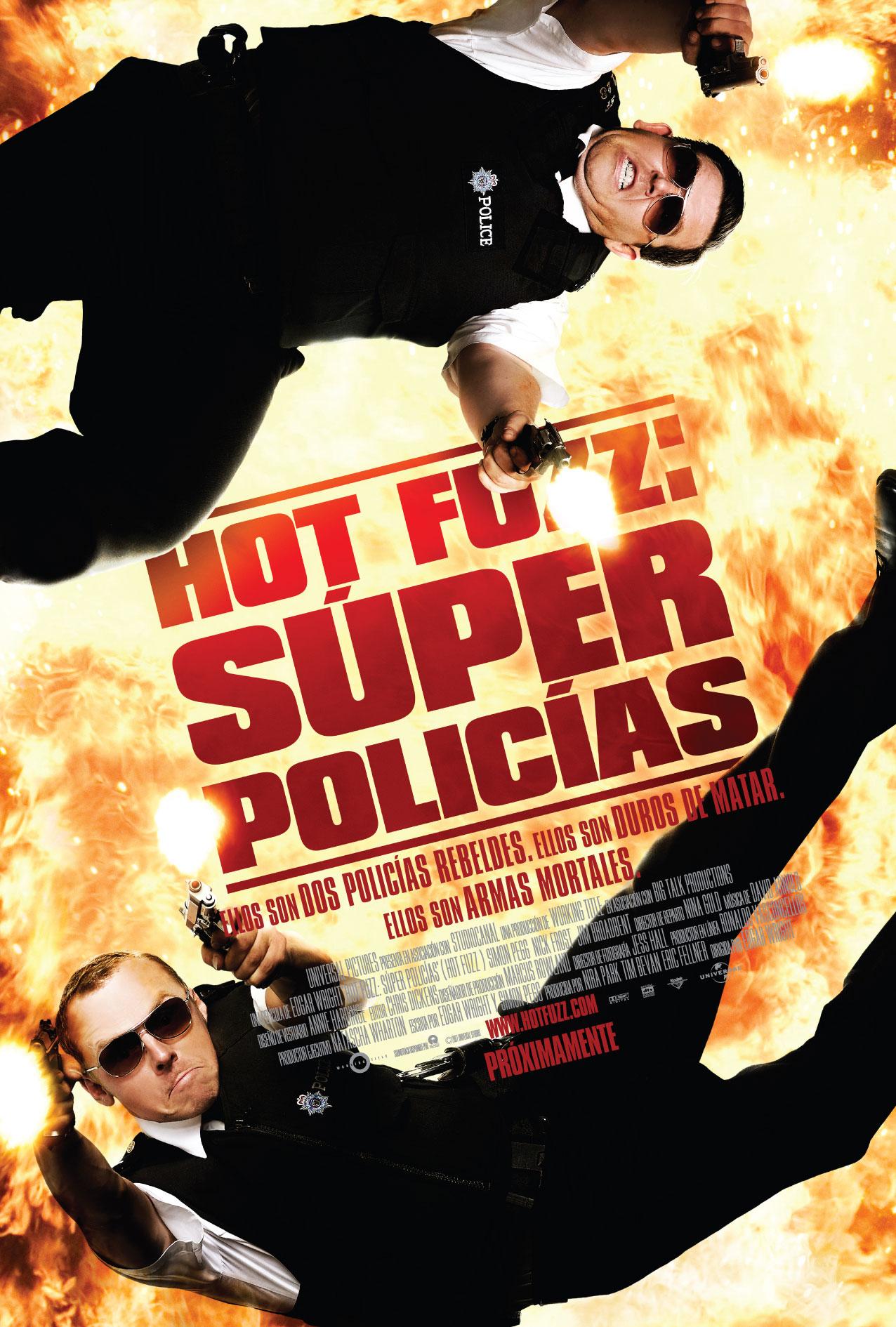 Hot Fuzz: Súper Policías